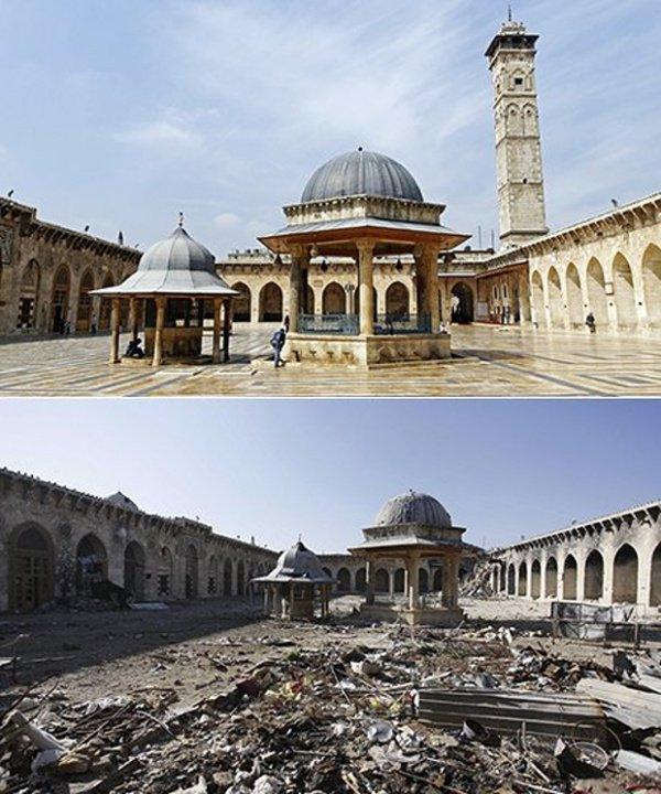 Мечеть Омейядов, Алеппо. 2012 - 2013 гг.