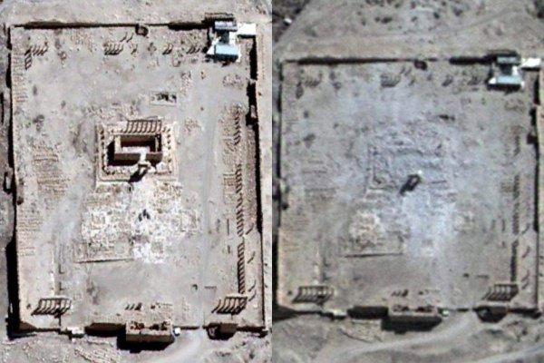 Пальмира. 2015 год.