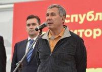 Минниханов принял участие в начале строительства «Агромира Казань»
