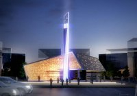 """Невероятно красивая мечеть """"земного поклона"""" в ОАЭ"""