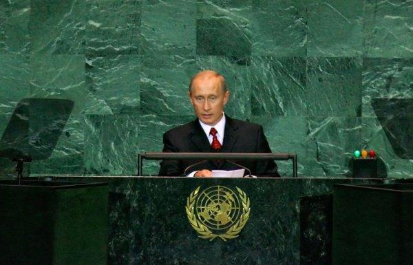 Ушаков: Путин выступит на Генассамблее ООН 28 сентября .