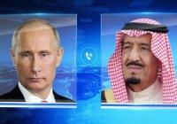 Путин и саудовский король обсудили конфликт на Ближнем Востоке