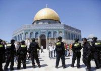 4 мусульманские страны договорились вместе защищать Аль-Аксу