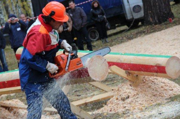 Татарстанцы завоевали второе место на чемпионате среди вальщиков леса.