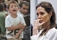 Джоли и Питт усыновляют сирийского мальчика