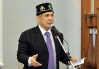 Минниханов посетит открытие Соборной мечети в Москве