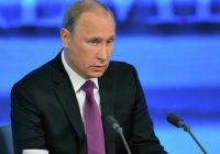 Путин считает открытие Соборной мечети большим событием
