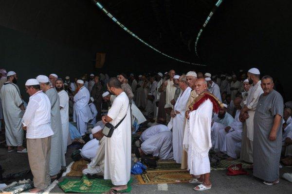 Джума-намаз в Мекке за пределами Запретной мечети