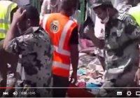 Опубликовано первое видео последствий трагедии в Мине
