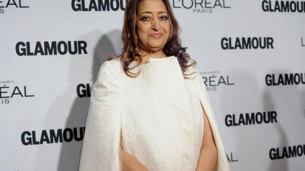 Мусульманка Заха Хадид (Zaha Hadid) стала первой женщиной, получившей главный приз Великобритании в области архитектуры