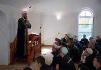 Муфтий РТ провел пятничную проповедь для осужденных ФКУ ИК-5