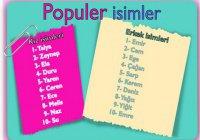 Современные турецкие имена