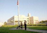 Посольство США в Узбекистане забросали коктейлями Молотова