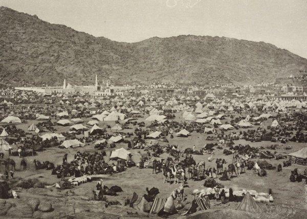 Западная часть долины Мина, 1887 год.