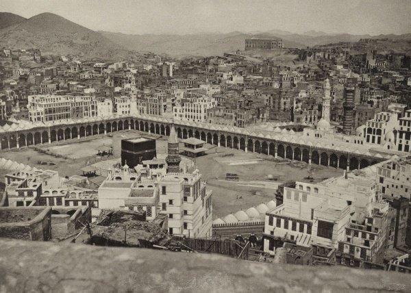 Запретная мечеть в 1887 году.
