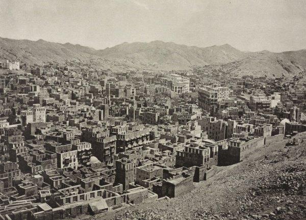 Мекка в 1887 году.
