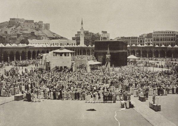 Таваф в 1887 году.