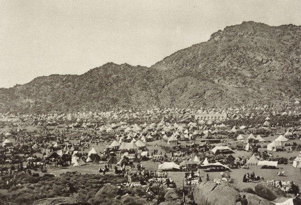 Восточная часть долины Мина в 1887 году.