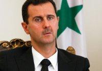 Асад считает, что именно Россиия спасет Сирию от терроризма