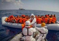 У берегов Ливии были спасены почти 2 тысячи мигрантов
