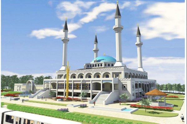 ВКрыму заложили фундамент Соборной мечети