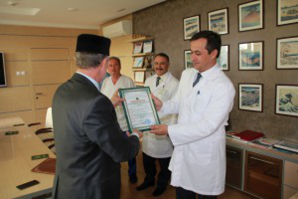 Представители Комитета «Халяль» посетили ДРКБ