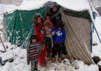 Британия спасет от мороза 50000 сирийцев