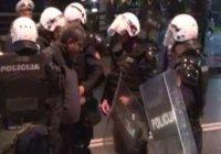 Во время демонстрации в Черногории пострадали 8 человек