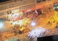В Рио-де-Жанейро произошел мощный взрыв газа