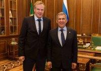 Минниханов встретился с президентом Федерации сноуборда России
