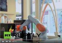 В ОАЭ открылось первое в мире полностью роботизированное кафе
