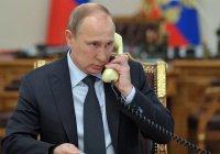 Путин провел телефонные разговоры с 4 мусульманскими лидерами