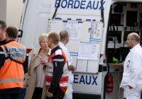 Появилось первое видео с места ДТП во Франции