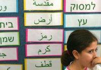 Уроки арабского в школах Израиля сделают обязательными