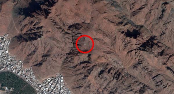 Поразительная находка на горе Ухуд