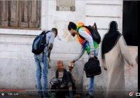 Мусульмане Марокко пришли на помощь бездомным