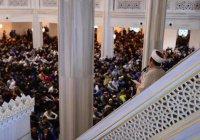 Мусульманский лидер Турции прочитал проповедь в Москве