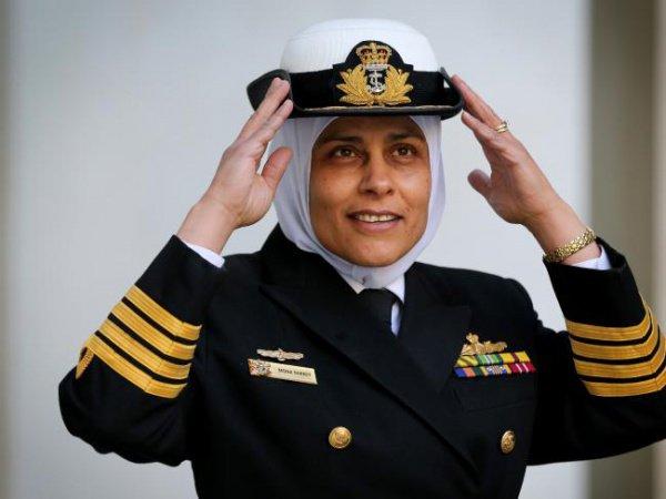 Мона Шинди служит в ВМС Австралии уже 26 лет