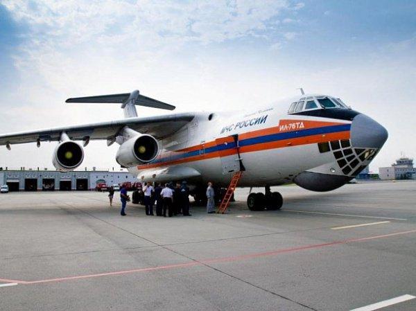 В ночь на четверг вылетел самолет с гуманитарной помощью для населения республики