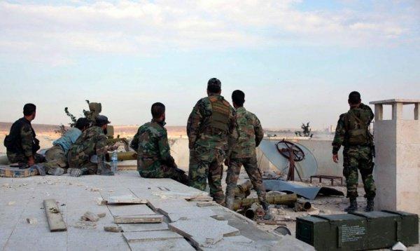 Сирии намерена полностью снять блокаду террористов и очистить территорию вокруг аэродрома от ИГ