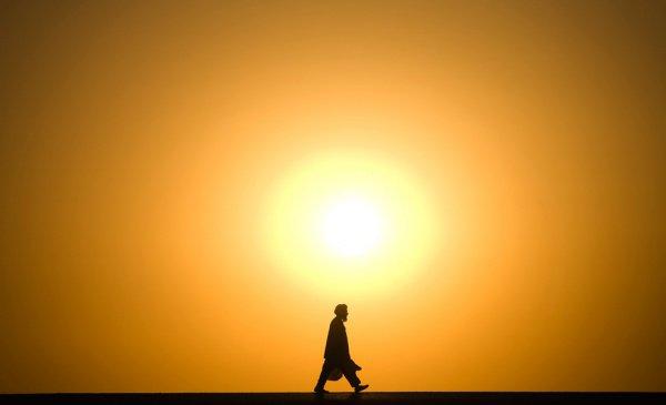 Посланник Аллаха ходил степенно, но при этом быстро