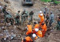 В Китае в результате оползня погибли 25 человек