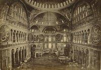 3 уникальных фото мечети Айя София до того, как ее превратили в музей