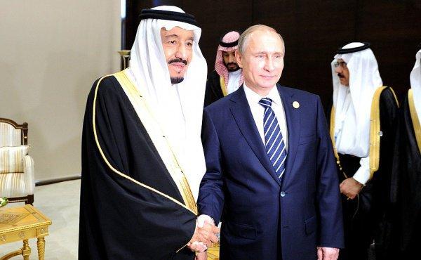Примечательно, что это первая встреча Владимира Путина с саудовским монархом
