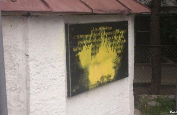 Вице-премьер крымского правительства Руслан Бальбек заявил, что на территории региона действует группа провокаторов, оскверняющих мечети