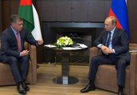 Король Иордании соболезнует в связи с крушением Су-24