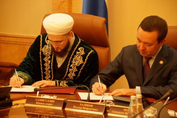 Халиков подчеркнул, что подобный документ подписывается впервые в истории Татарстана