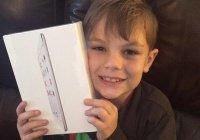 Обменявший iPad на мечеть мальчик из Техаса получил подарок