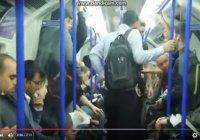 Мусульманин спас девушку от приставаний в метро (Эксперимент)