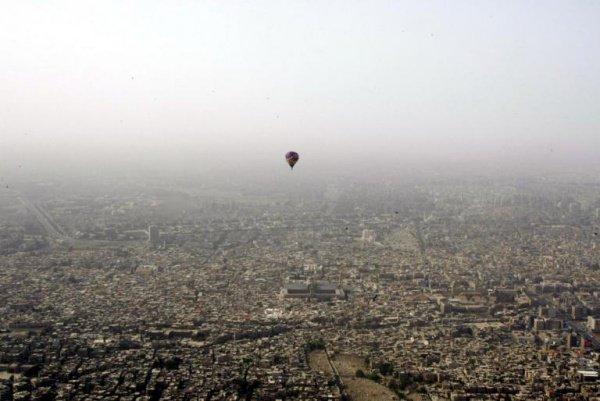2007 год. Воздушный шар над Дамаском.